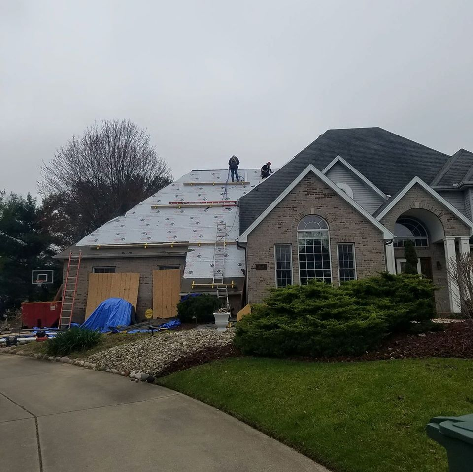 Nice 5 800 Square Foot Roof No Project Too Big For Us